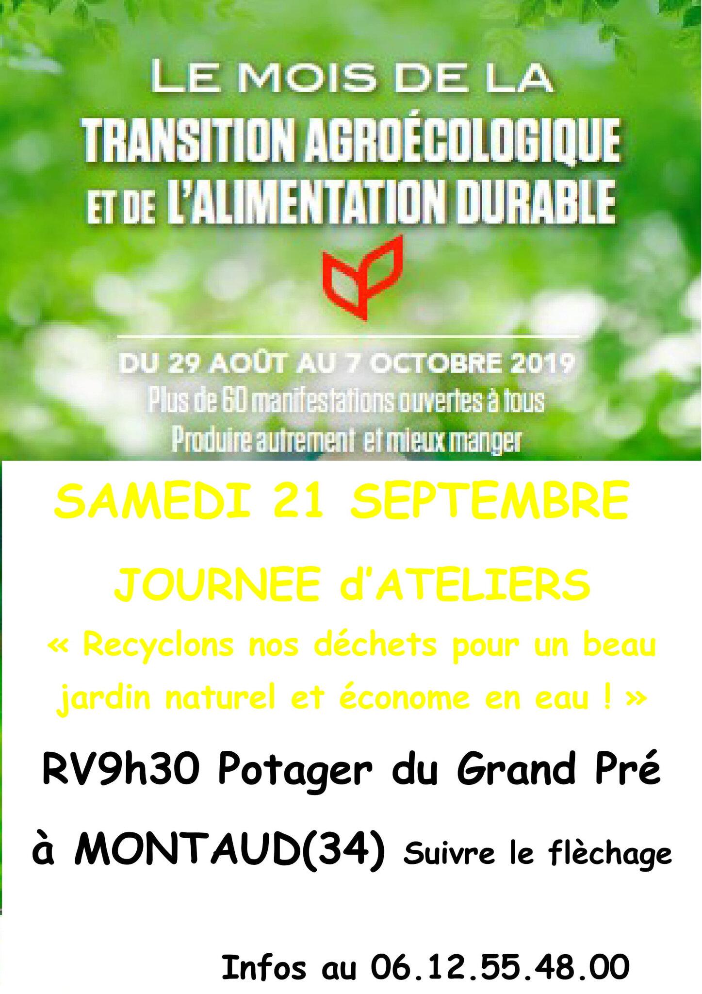 Retrouvez Les Jardins De Tara pour une journee d'ateliers de jardinage au naturel samedi 21 septembre à Montaud (34)
