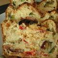 Cake aux légumes du soleil