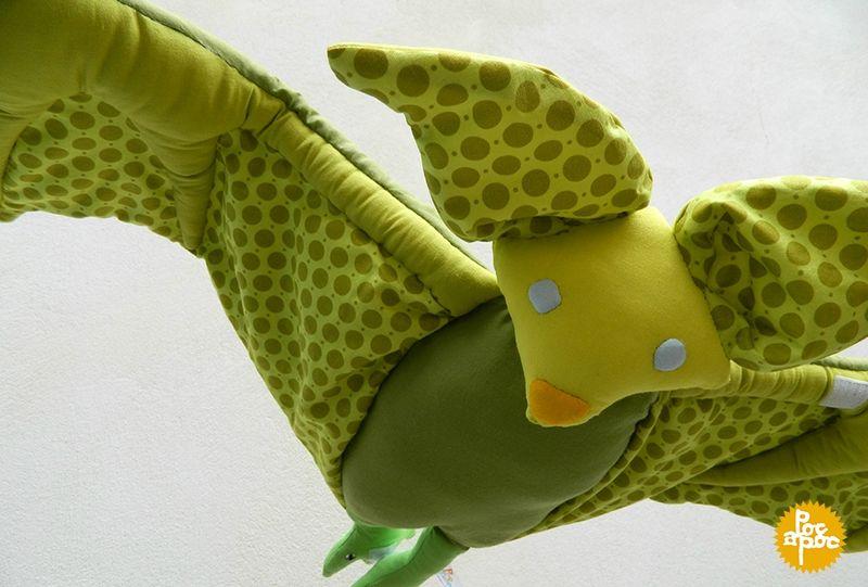 chauve souris en tissu cadeau de naissance cadeau personnalisé chambre enfant decoration 8blog