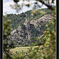Le château de la tourette + autre paysage ardéchois