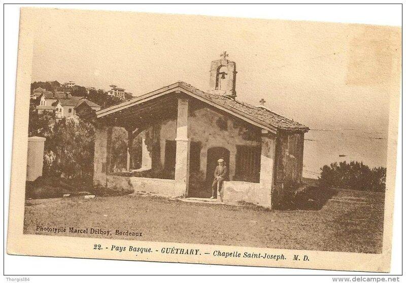 Guéthary, chapelle saint Joseph