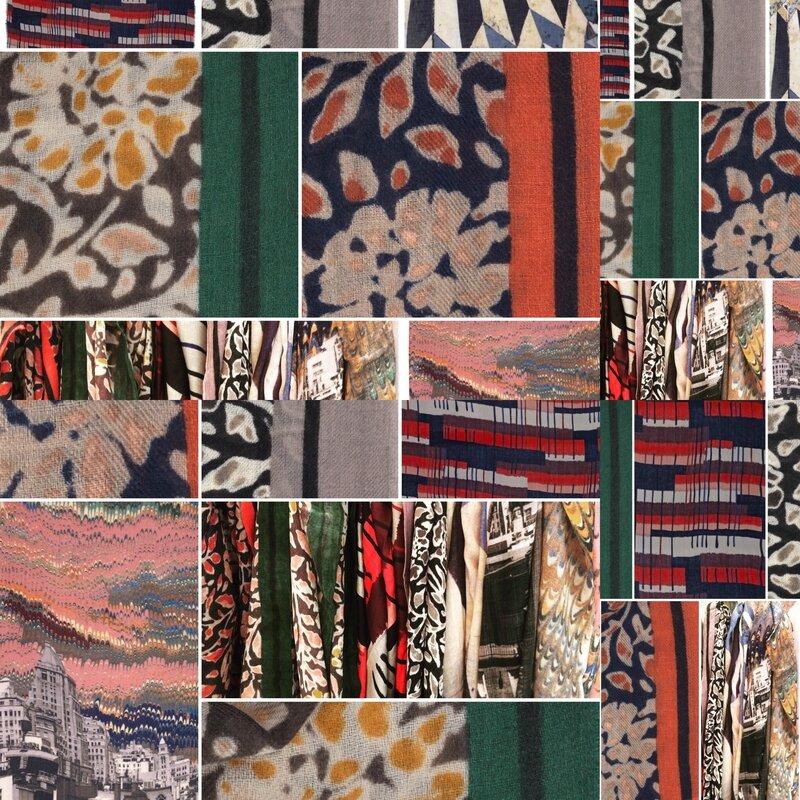 Echarpes foulards BECK SONDERGAARD AH 1617 Boutique Avant Apres 29 rue FOCH 34000 Montpellier (3)