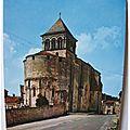 Chaniers - église romane