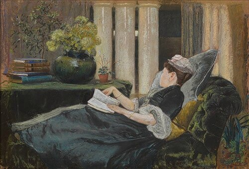 Tiffany Louise Tiffany reading