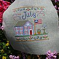 July - country cottage needleworks