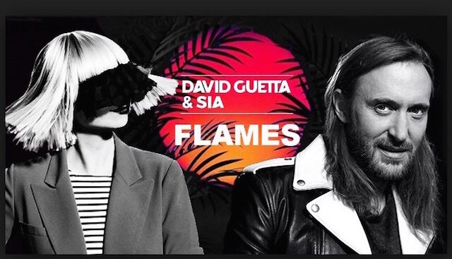 david guetta et sia flames