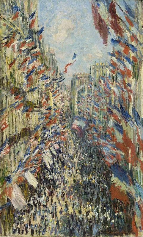1878, La Rue Montorgueil à Paris