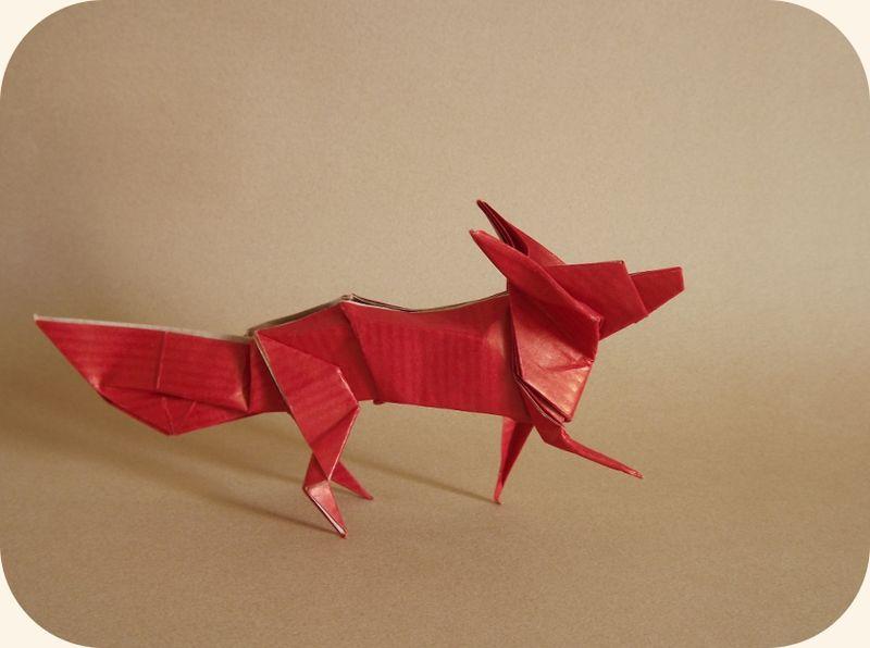 Origami Zoo - Renard
