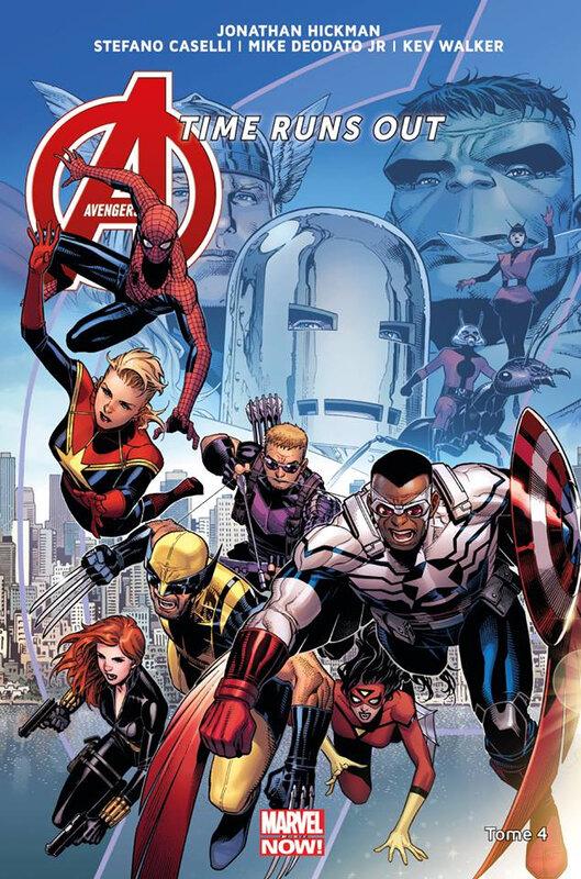 marvel now avengers time runs out 04 la chute des dieux