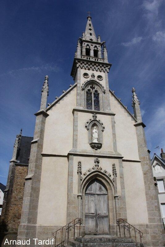 001918 Larmor-Baden - Le Golfe du Morbihan - L'église Saint-Sauveur à Saint-Goustan