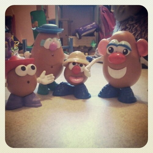 famille monsieur patate