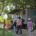 ancien wagon aménagé en bureau garde de Dire Dawa
