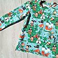 Tee shirt modèle ottobre