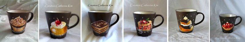 Les mugs gourmands