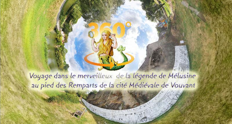 Voyage dans le merveilleux de la légende de Mélusine au pied des Remparts de la cité Médiévale de Vouvant