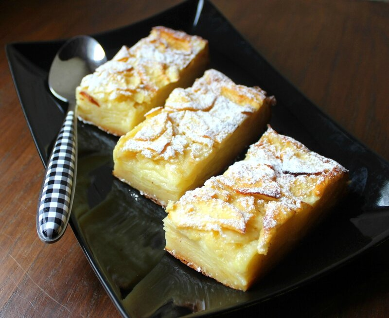 Gâteau invisible pommes (5)