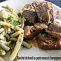 0312 Flanchet de boeuf au pesto rosso et champignons CK Couv