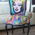 Chaise terminée Marylin 01
