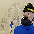 Le capitaine haddock : musée imaginaire de tintin, résine mat 159€ avec certificat numéroté