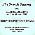 Nouvelles collections printemps été 2012