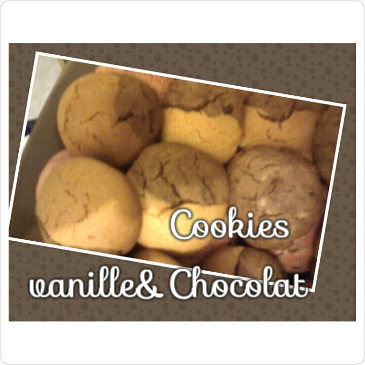 Cookies vanille &Chocolat