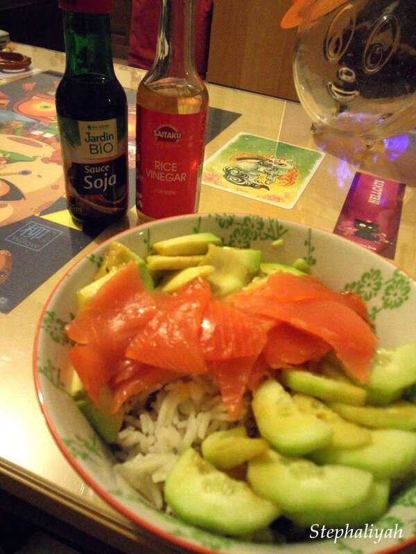 Chirashi sushi - 4