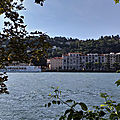Balade sur les bords du rhone a sainte-colombe...