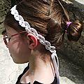 Bandeau crochet coton Fifty blanc 7