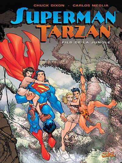 soleil superman tarzan fils de la jungle