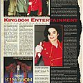Kingdom entertainment - black & white n°18, juillet 1996
