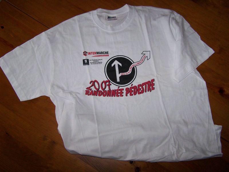 Tee shirt 2007