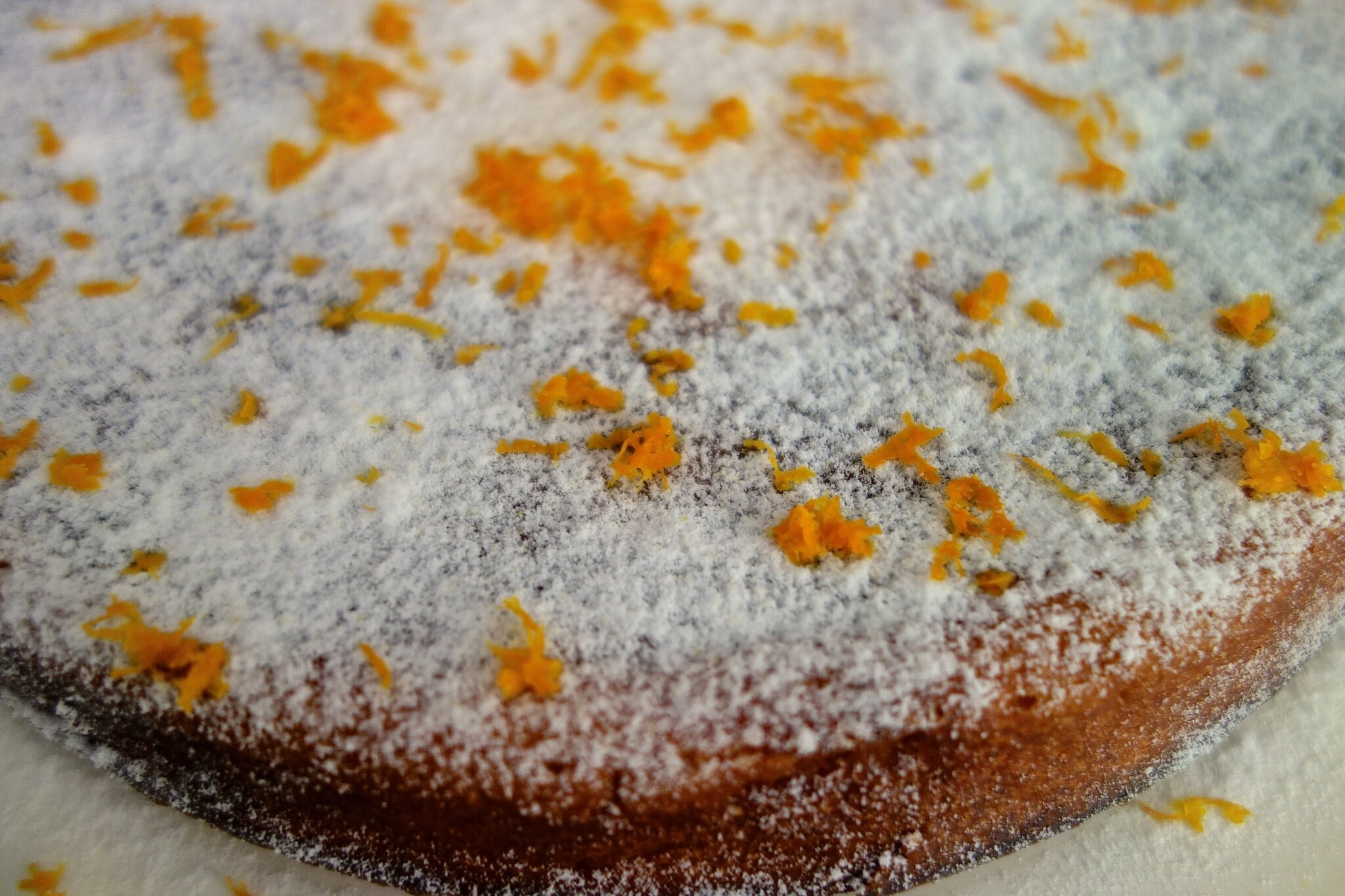 gâteau à la ricotta et à l'orange