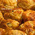 Muffins jambon-courgette