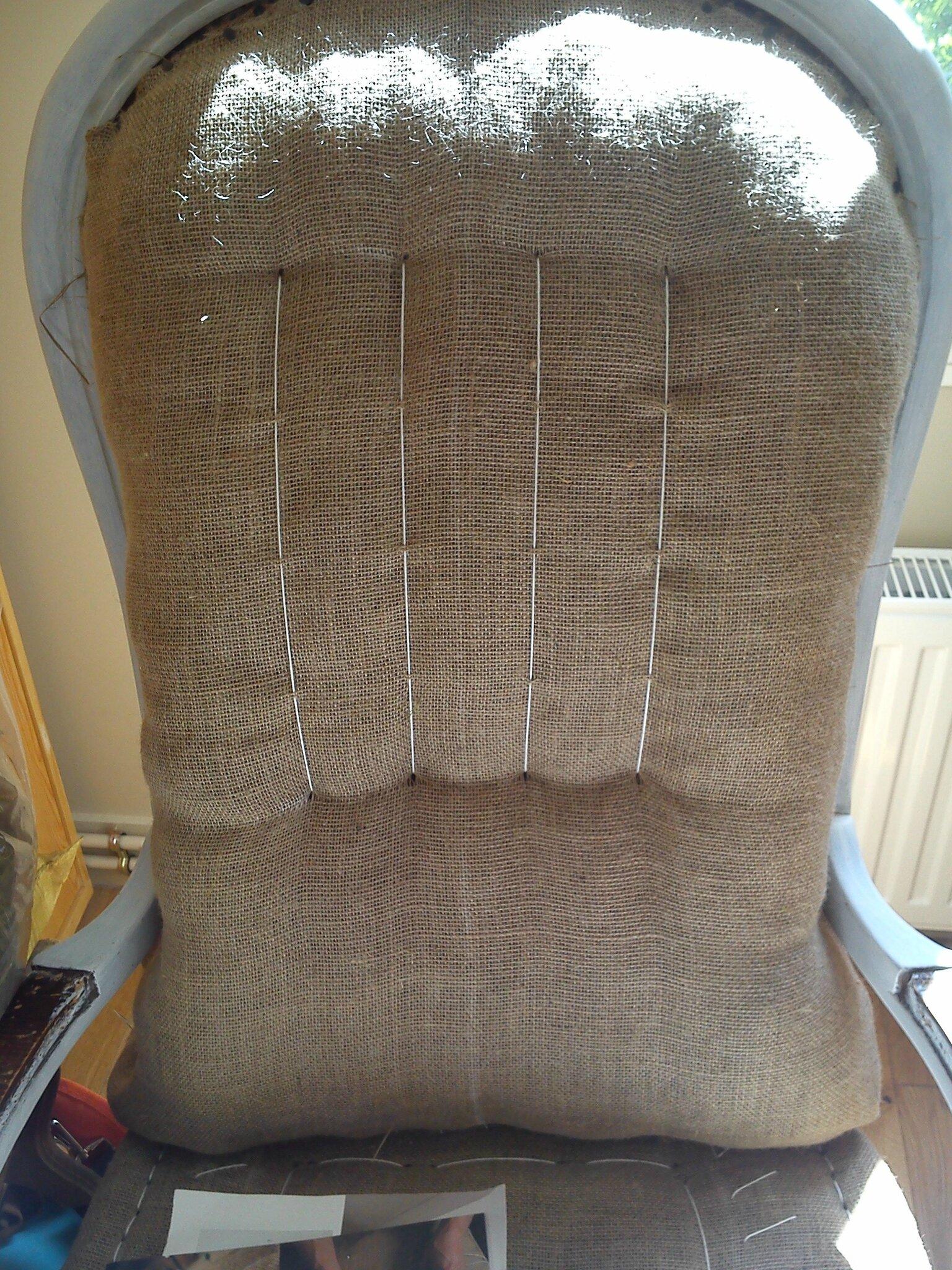 dossier point de fond 2 photo de r fection fauteuil voltaire brin de lin. Black Bedroom Furniture Sets. Home Design Ideas