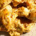 Aiguillettes de poulet sauce moutarde à l'ancienne