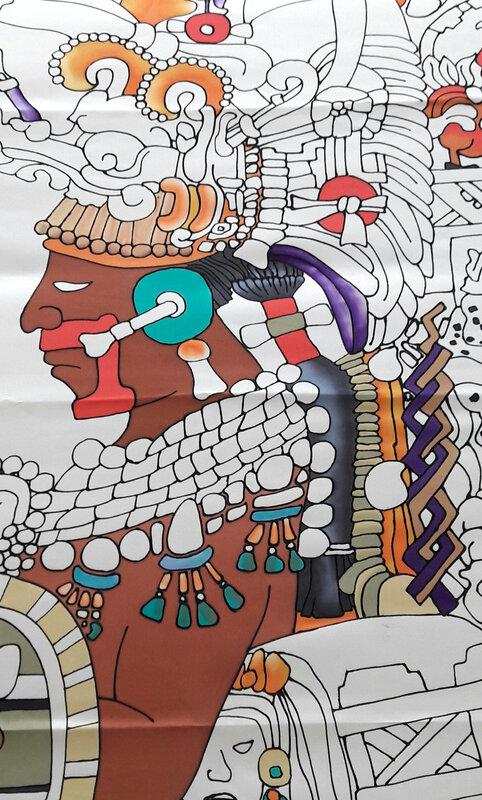 le maya, gutta noire