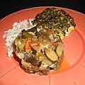 Ratatouille au fenouil et au muscat