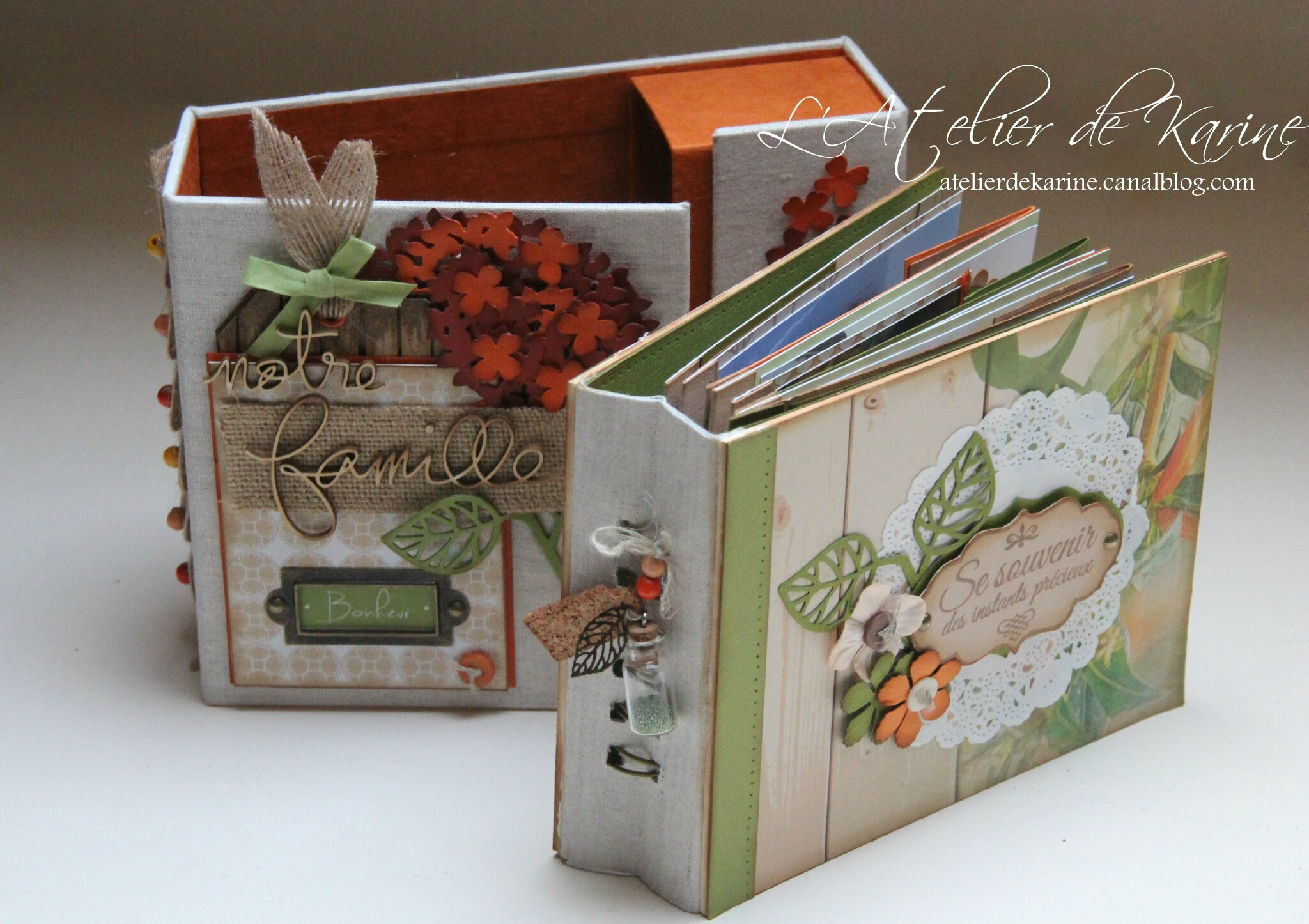 Mini Album et son coffret - Pure Lorelaïl Design 19
