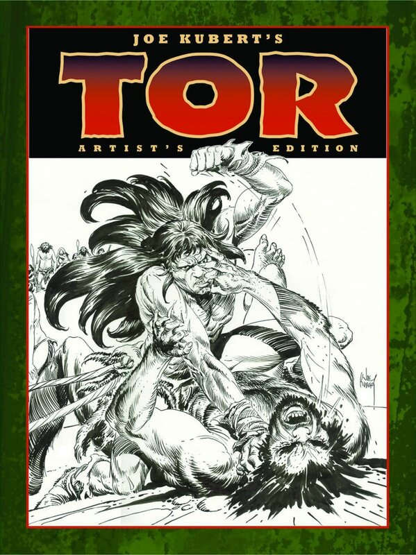 joe kubert tor artist edition HC