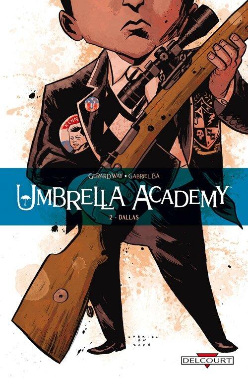 delcourt umbrella academy 2 dallas