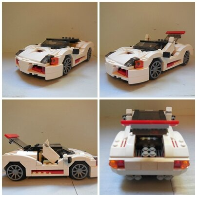 voiture de course lego plan. Black Bedroom Furniture Sets. Home Design Ideas
