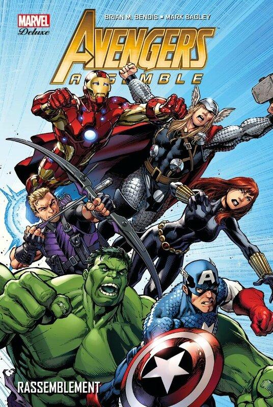 marvel deluxe avengers assemble 1 rassemblement