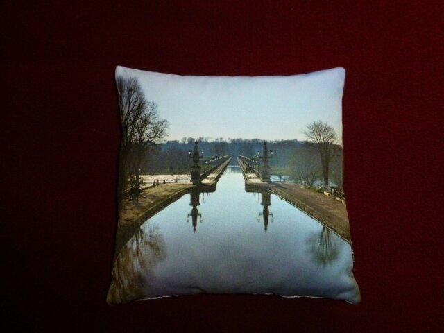 Pont canal de Briare - photo couleur