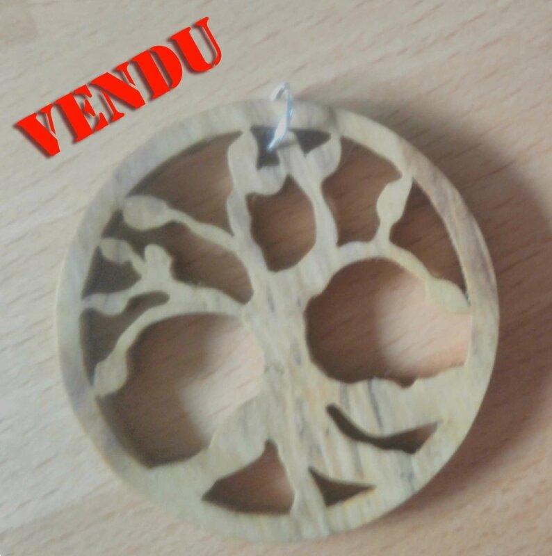 collier arbre de vie vendu