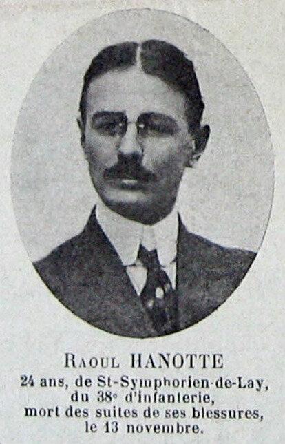 Raoul Hanotte, portrait