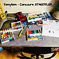 Journée mondiale du coloriage : le dessin de mon fils selectionné ! merci staedtler !