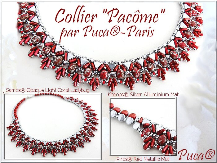 Collier Pacôme red