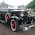 Chevrolet independence 3ae 4door phaeton 1931