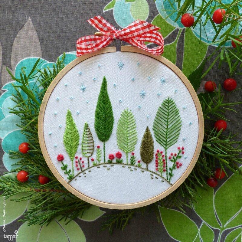 christmas forest 1