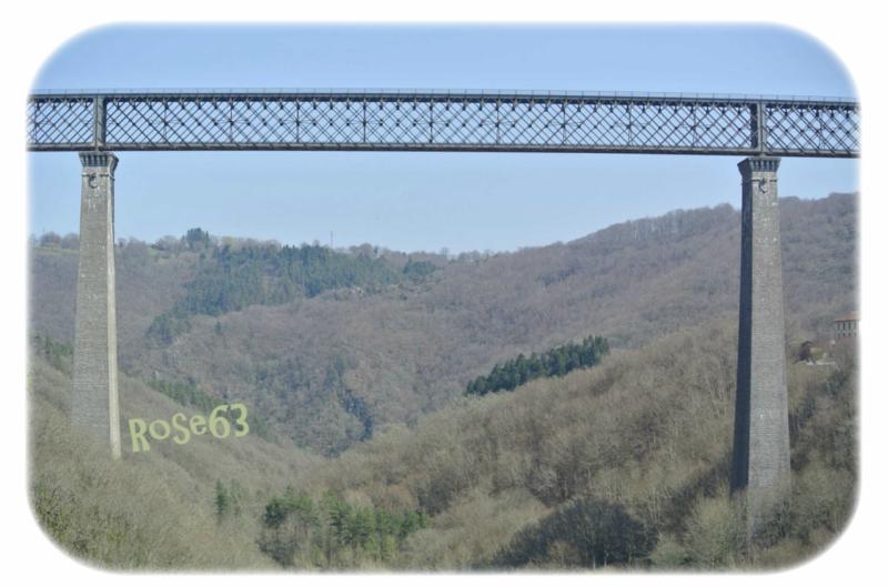 Le Viaduc des Fades Rose63 le 12 avril 2019
